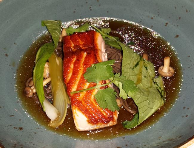 Bonito Glazed Salmon