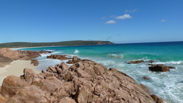 Seriously beautiful beach in Margaret River.