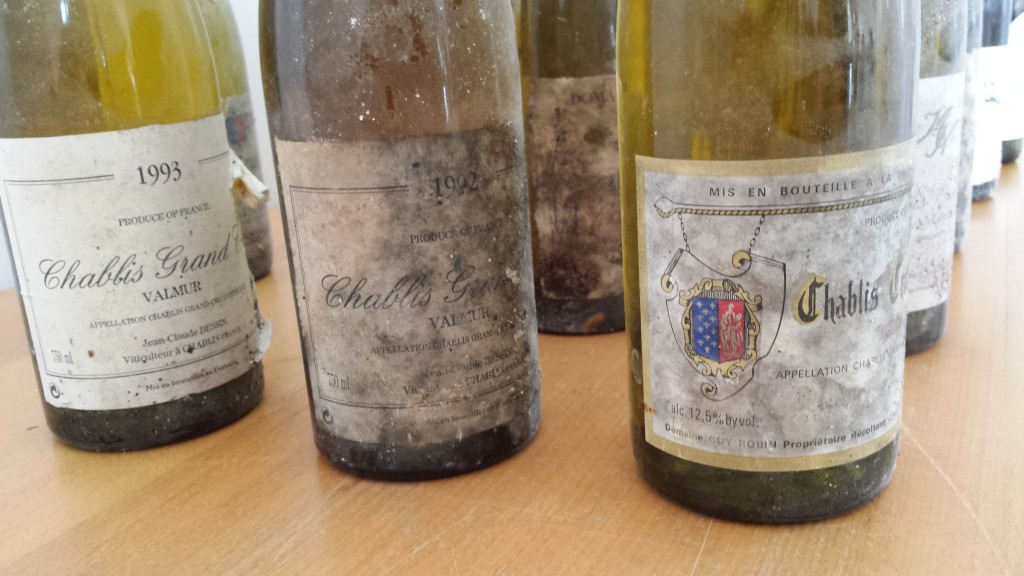 Some more Grand Cru Chablis...