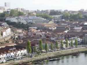 The Yeatman across the river in Vila Nova de Gaia