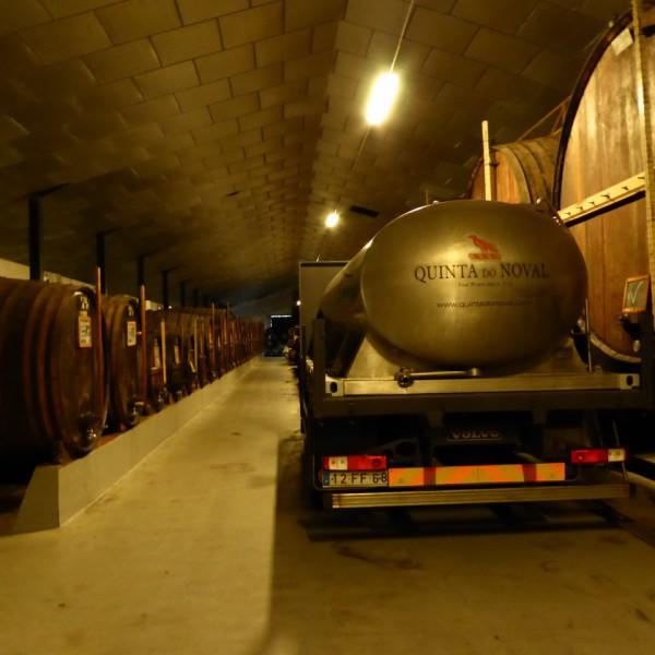 The cellars at Quinta do Noval