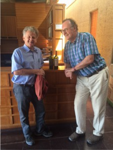 Anthony with Dan Odfjell the founder of the winery
