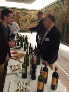 William & Nigel tasting