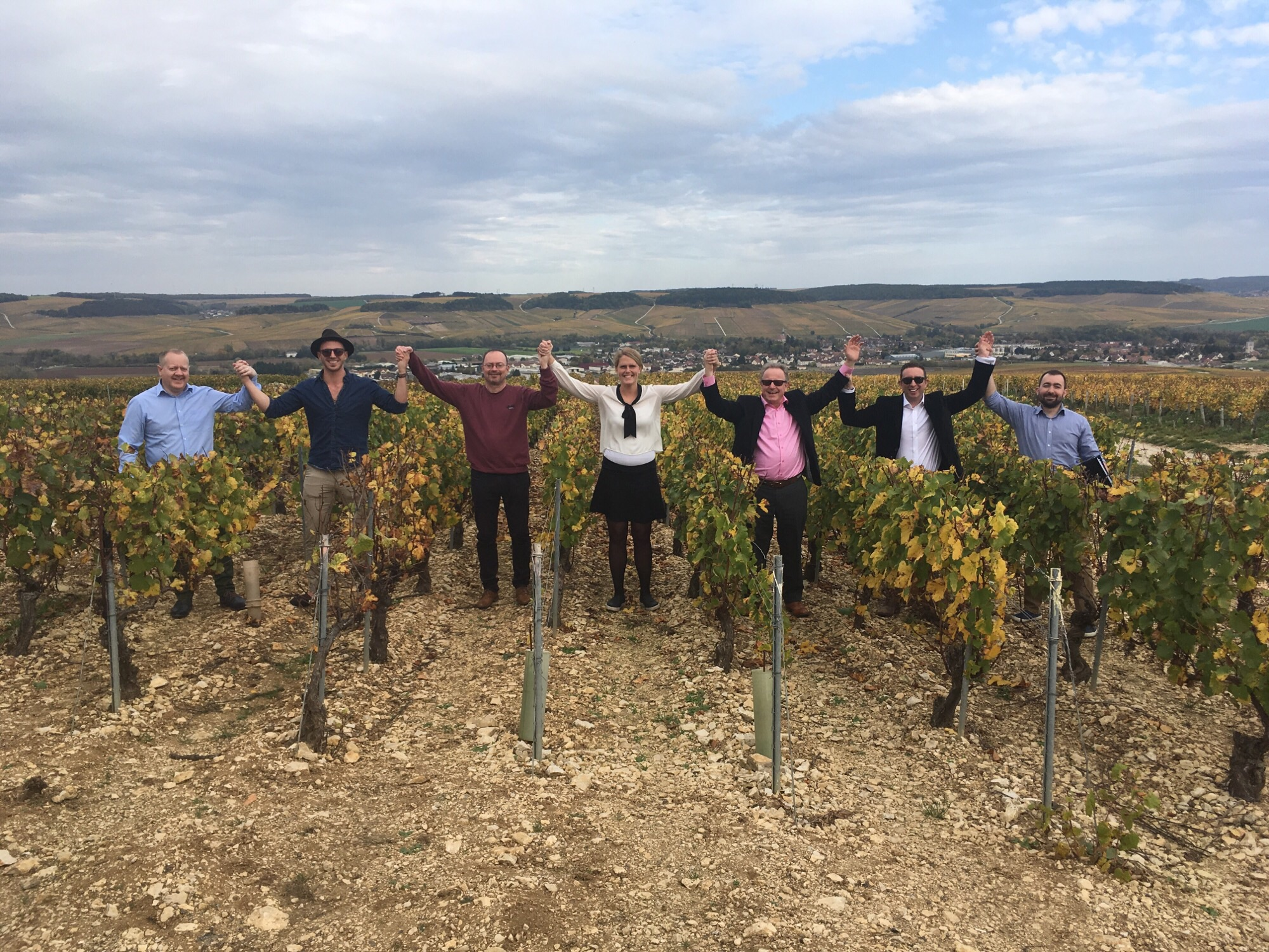 Tindal team trip to Burgundy