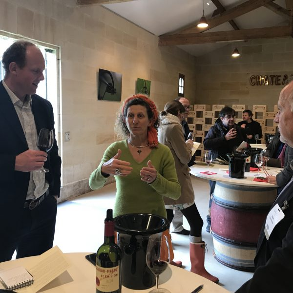 Hortense Idoine Manoncourt talking about her family's intuitive mantra at Figeac