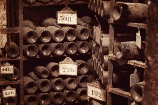 The cellars at Chateau de Beaune