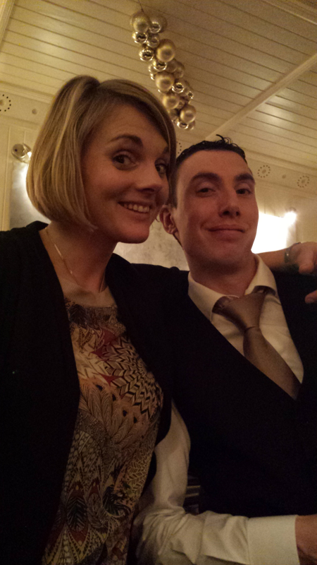 Harriet Tindal and Thomy Sabbe, Sommelier at Locks