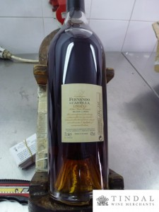Hand labelled Oloroso