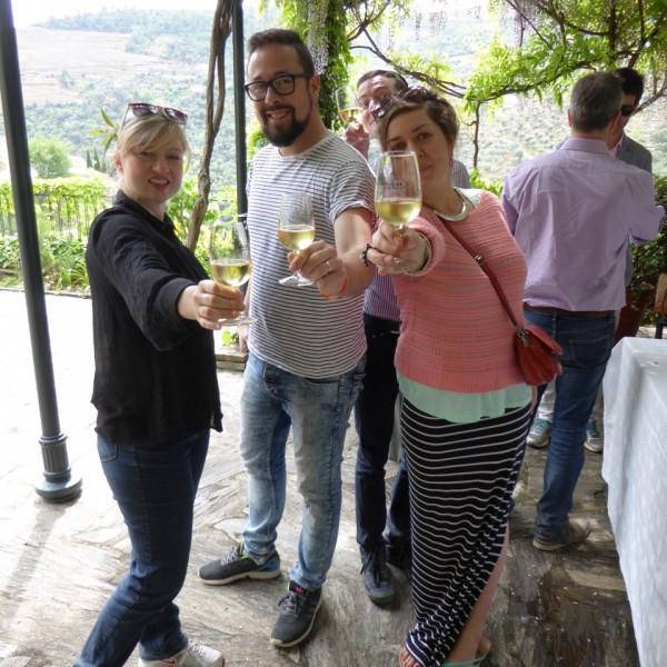 A final lunch at the beautiful Quinta da Panascal (Fonseca)